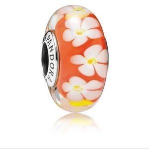 Tropical flowers murano